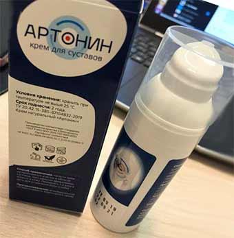 Оригинальный крем Артонин для суставов